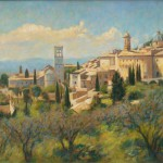 "Assisi Umbria |oil on canvas| 20""x28"""