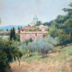 "Anghiari, Tuscany | Oil |13"" x 17"" 