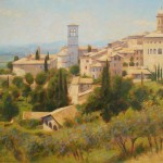 "Assissi, Umbria | Oil on canvas | 24"" x 26"" 