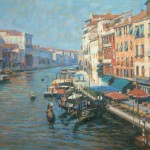 "Grand Canal, Venice 1| Oil | 14"" x 18"" 