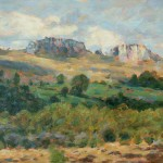 "Hay Tor | Oil on canvas | 12"" x 16"" 