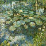 "Summer Lilypond 2014|oil on canvas|34""x28"""
