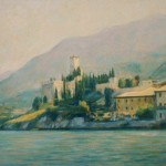 "Malcesine, Lake Garda | Oil | 13.5"" x 19"""