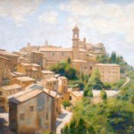 "Montepulciano 3 | Oil | 14"" x 19"" 