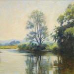 "River Frome, Wareham | Oil | 12"" x 18"""