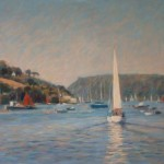 "Sailing off Salcombe | Oil | 13.5"" x 19"" 