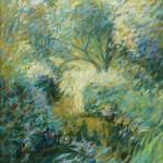 "Woodland Chalkstream | Oil on canvas | 22"" x 18"""